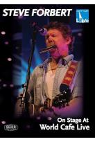 Steve Forbert - On Stage At World Cafe Live