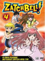 Zatch Bell! - Vol. 4: A New Pledge Between Zatch And Tia