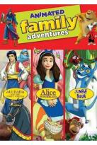 Animated Family Adventures Triple Feature - Jungle Book / Alice in Wonderland / Ali Baba and The Forty Thieves