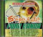 15 Super Exitos Con Pura Banda: CD/DVD
