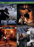 King Kong/The Mummy/The Scorpion King/Van Helsing