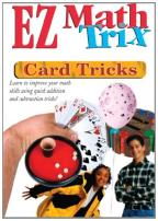 EZ Math Trix - Card Tricks