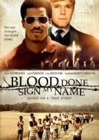 Blood Done Sign My Name