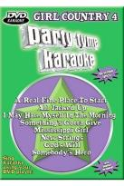Sybersound Party Tyme Karaoke - DVD Girl Country 4