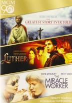 Greatest Story Ever Told/Luther/The Miracle Worker