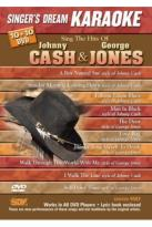 Singer's Dream Karaoke: Sing the Hits of Johnny Cash & George Jones