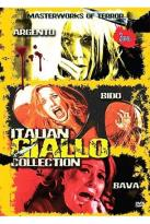 Italian Giallo Collection - Blood & Black Lace /Bird With A Crystal Plumage/ Watch Me When I Kill