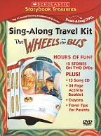 Wheels on the Bus: Sing-Along Travel Kit