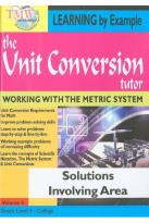 Unit Conversion Tutor: Solutions Involving Area