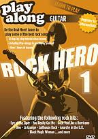 Play Along Guitar: Rock Hero, Vol. 1