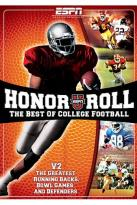 ESPNU Honor Roll: The Best of College Football - Vol. 2