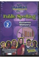 No Brainers On Public Speaking Module