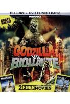 Godzilla vs. Biollante/Monster/Shark vs. Octopus