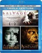 Mortuary/Salvage/Memory/Bonus DVD Content Included