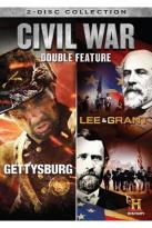 Civil War Double Feature: Gettysburg/Lee & Grant