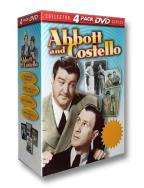 Abbott & Costello - DVD Four Pack