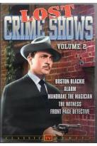 Lost Crime Shows Volume 2