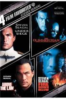 4 Film Favorites: Steven Seagal