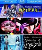 Beetlejuice/Charlie and Chocolate Factory/Tim Burton's Corpse Bride