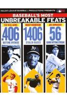 MLB: Baseball's Most Unbreakable Feats