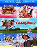 Blazing Saddles/Caddyshack/National Lampoon's European Vacation