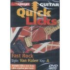 Lick Library: Guitar Quick Licks - Fast Rock Van Halen Style