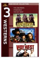 Long Riders/Stagecoach/The Way West