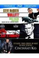 Bullitt/The Cincinnati Kid/The Getaway