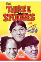 Three Stooges in 4 Hilarious Episodes