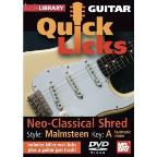 Guitar Quick Licks - Malmsteen