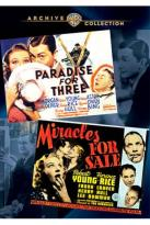 Paradise for Three/Miracles for Sale