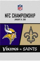 NFL: NFC Championship, January 24, 2010 - Vikings vs. Saints