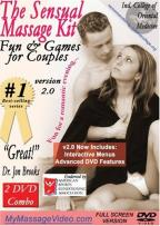 Sensual Massage Kit: Fun & Games for Couples, Vol. 2