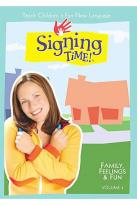 Signing Time! Vol. 4 - Family, Feelings & Fun