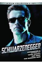 Schwarzenegger Collection: Terminator 2: Judgment Day/Total Recall/Red Heat/The Running Man