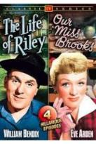 50's TV Comedy Double Feature: Life of Riley/Our Miss Brooks