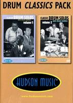 Drum Classics Pack: Classic Drum Solos and Drum Battles - Volumes 1 & 2