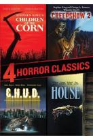 4 Horror Classics: Children of the Corn/Creepshow 2/C.H.U.D./House