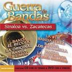Guerra De Bandas: Sinaloa vs.Zacatecas: CD/DVD
