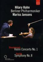 Hilary Hahn/Berliner Philharmoniker/Mariss Jansons: Shostakovich/Dvorak