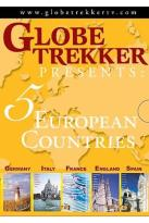 Globe Trekker - Europe 5 Pack: England, Italy, France, Spain, Germany