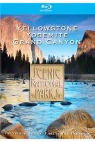 Scenic National Parks - Yellowstone/ Grand Canyon/ Yosemite