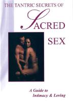 Tantric Secrets Of Sacred Sex