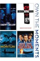 Enemy Below/Decision Before Dawn/Morituri/Sink the Bismark