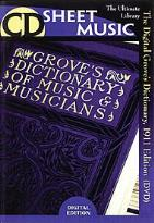CD Sheet Music: The Digital Grove's Dictionary, 1911 Edition