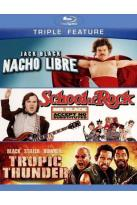 Nacho Libre/School of Rock/Tropic Thunder