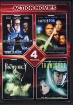 Action Movies: Equilibrium/Impostor/The Prophecy/Trancersi