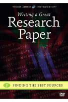 Writing A Great Research Paper: Finding the Best Resources