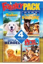 Family Pack: Adventures of Bailey: The Lost Puppy/Adventures of Ragtime/Little Heroes/Pets to the R