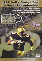 1991 FedEx Orange Bowl National Championship